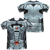 Cyborg- New 52 Costume Tee (Front/Back) T-shirts