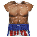 Juniors: Rocky- Apollo Creed Costume Tee Shirts