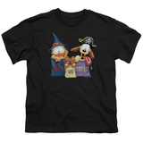 Youth: Garfield- Trick Or Treating T-Shirt