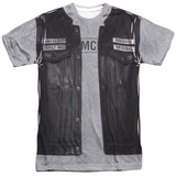 Sons Of Anarchy- Unholy Costume Tee Sublimated