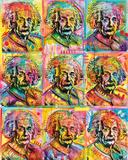 Dean Russo- Einstein Panels Print by Dean Russo
