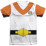 Voltron- Hunk Costume Tee Sublimated