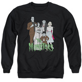 Crewneck Sweatshirt: The Munsters- The Family T-Shirt