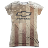 Juniors: Chevrolet- American Pride T-Shirt