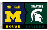 NCAA Michigan - Michigan St. Flag with Grommets Flag