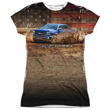 Juniors: Chevrolet- Silverado In The Wild T-Shirt
