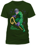Batman- Presenting The Riddler (Slim Fit) Shirt