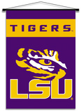NCAA LSU Tigers Indoor Banner Scroll Wall Scroll