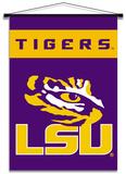 NCAA LSU Tigers Indoor Banner Scroll Pergamino