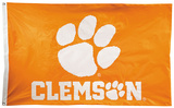 NCAA Clemson Tigers 2-sided Flag with Grommets Flag