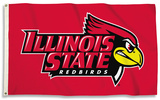 NCAA Illinois State Redbirds Flag with Grommets Flag