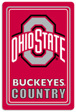 NCAA Ohio State Buckeyes Tin Sign