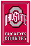 NCAA Ohio State Buckeyes Tin Sign