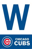 MLB: Chicago Cubs- Win Flag Poster
