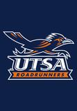 NCAA Texas San Antonio Roadrunners 2-Sided Banner with Pole Sleeve Flag