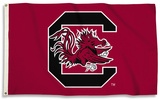 NCAA South Carolina Gamecocks Flag with Grommets Flag
