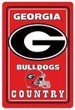 NCAA Georgia Bulldogs Tin Sign