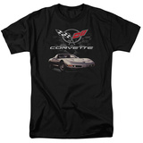 Chevrolet- Vette Checkered Style Shirts