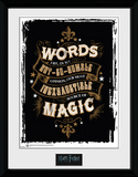 Harry Potter - Words Collector-tryk