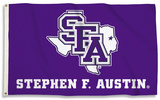 NCAA Stephen F. Austin Lumberjacks Flag with Grommets Flag