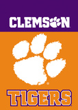NCAA Clemson Tigers 2-Sided Garden Flag Flag