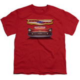 Youth: Chevrolet- 1957 Bel Air Emblem T-Shirt