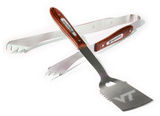 NCAA Virginia Tech Hokies 2 Piece Wood Handle BBQ Set BBQ Grill Set