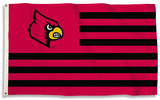 NCAA Louisville Cardinals Flag with Grommets Bandera