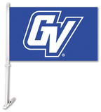 NCAA Grand Valley State Lakers Car Flag with Wall Bracket Flag