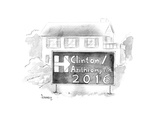 Hillary / Azithromycin 2016 - Cartoon Regular Giclee Print by Benjamin Schwartz