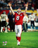Steve Young Super Bowl XXIX Action Photo