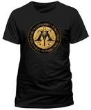 Harry Potter- Ministry Of Magic Crest (Slim Fit) T-skjorte
