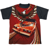 Youth: Pontiac- Firebird Phoenix Flight Black Back T-shirts