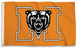 NCAA Mercer Bears Flag with Grommets Flag