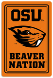 NCAA Oregon State Beavers Tin Sign