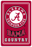 NCAA Alabama Crimson Tide Tin Sign