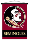 NCAA Florida State Seminoles Indoor Banner Scroll Wall Scroll