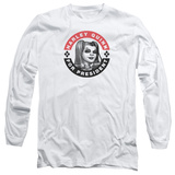 Long Sleeve: Harley Quinn- Election Button Shirt