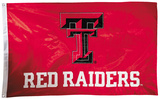NCAA Texas Tech Red Raiders 2-sided Flag with Grommets Flag