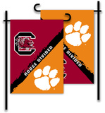 NCAA Clemson - S. Carolina 2-Sided Garden Flag Flag