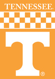NCAA Tennessee Volunteers 2-Sided Banner with Pole Sleeve Flag