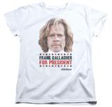 Womans: Shameless- Frank For President T-Shirt