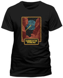 Queens Of The Stoneage- Canyon Comsic View (Slim Fit) T-Shirt