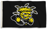 NCAA Wichita State Shockers Flag with Grommets Flag