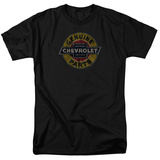Chevrolet- Genuine Parts Distressed Shield T-Shirt