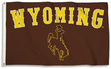 NCAA Wyoming Flag with Grommets Flag