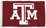 NCAA Texas A&M Aggies Flag with Grommets Flag