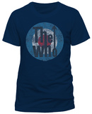 The Who- Distressed Target Imprint (Slim Fit) T-Shirts