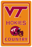 NCAA Virginia Tech Hokies Tin Sign