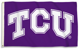 NCAA TCU Horned Frogs Flag with Grommets Flag